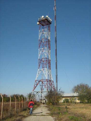 48m lattice transmission tower reinforcement